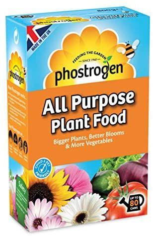 Phostrogen All Purpose Plant Food, 80 Can £3 (+£4.49 Non Prime) @ Amazon