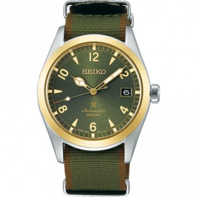 """Seiko Prospex Men's """"Alpinist"""" Automatic Watch SPB212J1 £475 @ Hillier Jewellers"""