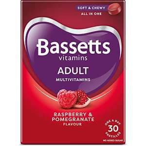 Bassets adult chewy multivitamins X 30 tablets - £2.39 / £2.27 delivered with S&S (+£4.49 non-prime) @Amazon (min order 3)
