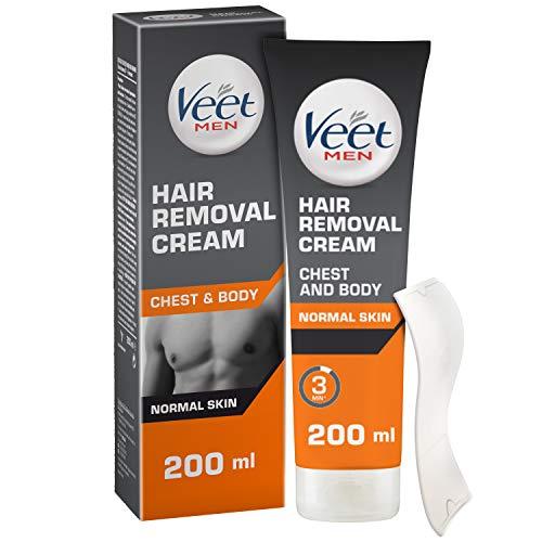 Veet Men Hair Removal Cream, 200 ml - £3.99 (+£4.49 NP) @ Amazon