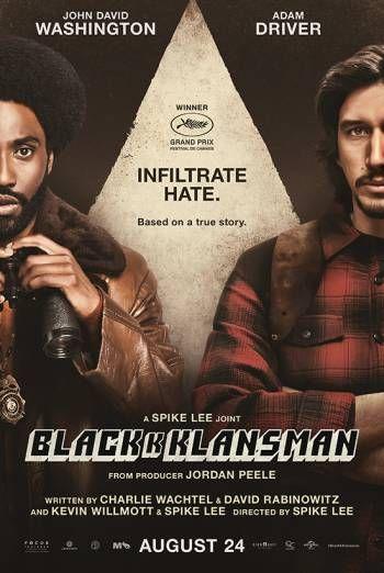 BlacKkKlansman 4K UHD to own £3.99 @ Amazon Prime Video