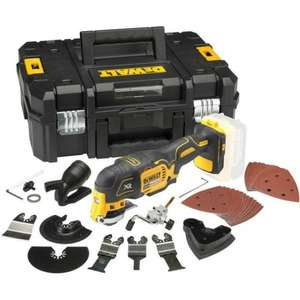 DeWalt DCS355N 18V XR Brushless Multi-Tool with 35pc Accessory Kit and Case £129.98 @ Powertoolmate