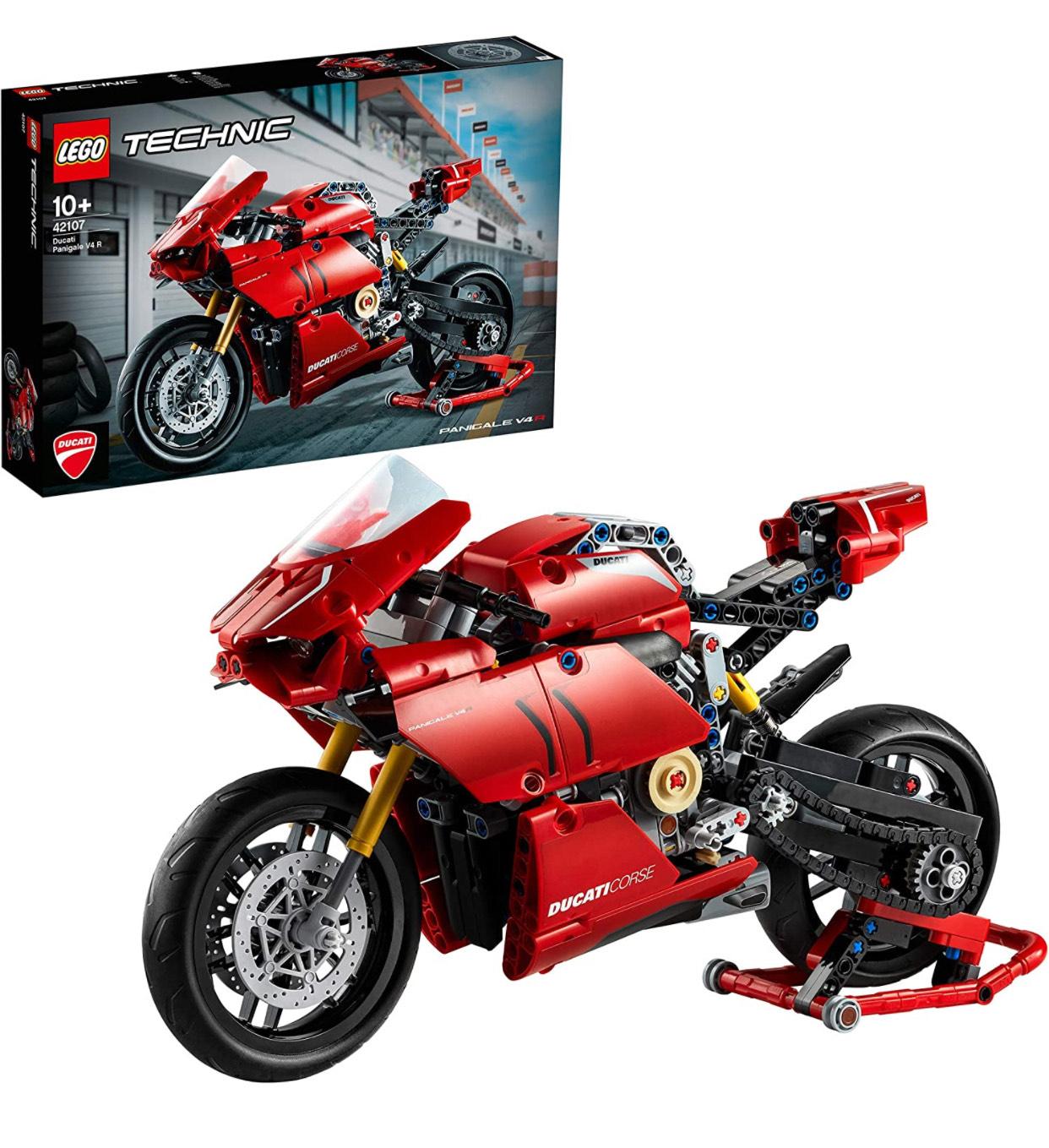 LEGO 42107 Technic Ducati Panigale V4 R Motorbike Model £37.99 At Smyths