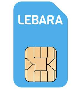 30 Day Sim Only - 3GB Data, Unlimited Mins & Texts For £2.50 Per Month For First 3 Months - £5 Thereafter @ Lebara