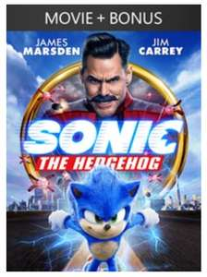 Sonic the Hedgehog + Bonus Content (4K) £7.99 @ Microsoft Movies & TV