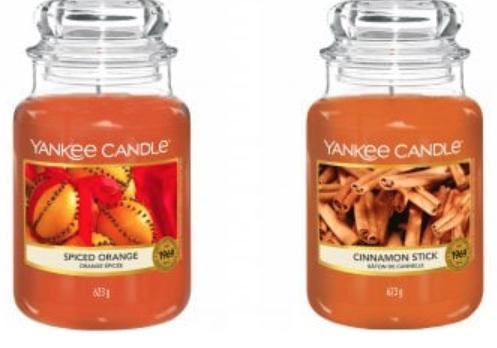Yankee Candle Cinnamon Stick Large Jar Candle £8.95 / Spiced Orange Large Jar Candle £9.89 delivered @ JustMyLook
