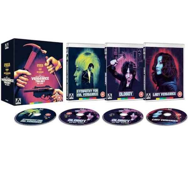 The Vengeance Trilogy [Blu-ray] £17.99 + £1.99 delivery @ Zavvi