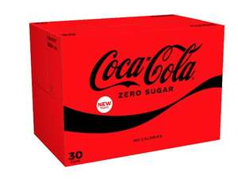 Coca-Cola Zero Sugar30x330ml £8.50 @ Waitrose & partners