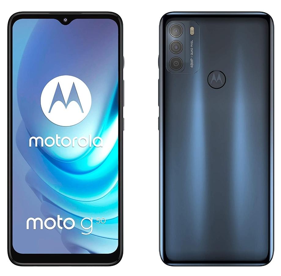 "New Motorola Moto G50 5G Steel Grey 6.5"" 64GB Dual SIM Android 11 Sim Free Smartphone - £159.19 With Code @ Technolec / Ebay"