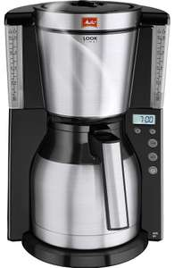MELITTA Look IV Therm Timer Filter Coffee Machine - Black & Stainless Steel - £38.99 delivered @ Currys PC World