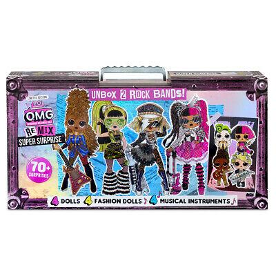 LOL dolls L.O.L Surprise! Outrageous Millennial Girls Remix Super Surprise £55.99 theentertainertoyshop eBay