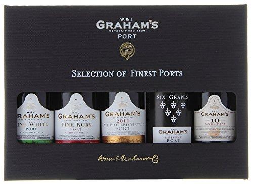 Graham's Mini Port Wine Selection Presentation Pack, 50ml (Case of 5) - £11.80 Prime (+£4.49 Non-Prime) @ Amazon