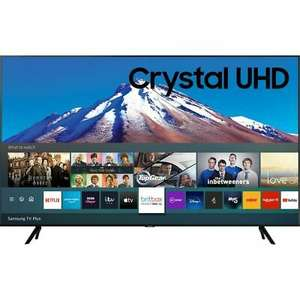 Samsung UE50TU7020 50 Inch TV Smart 4K Ultra HD LED Freeview HD 2 HDMI - £369 delivered with code @ AO / eBay (UK Mainland)