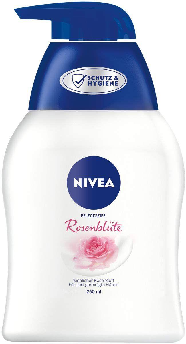 NIVEA Rose Blossom Care Soap (250 ml), Nourishing Liquid Soap , pH Skin-Friendly £1.12 (£4.49 NP) (UK Mainland) Sold by Amazon EU @ Amazon
