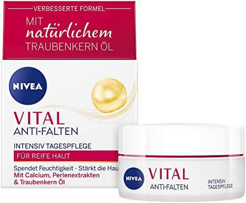 NIVEA Vital Intensive Day Cream (50 ml), Pearl Extracts & Natural Grape Seed Oil for Mature Skin - £1.89 Prime / +£4.49 non Prime @ Amazon