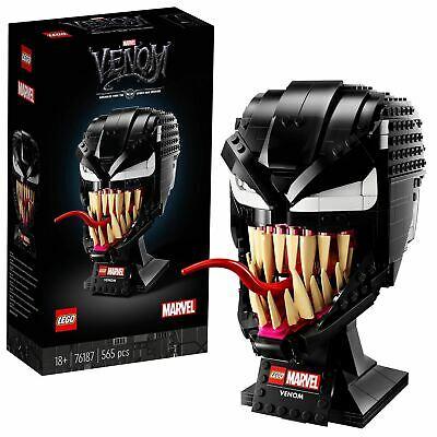 LEGO Marvel Spider-Man 76187 Venom Mask Building Set for Adults - £42.95 delivered @ Velocity Electronics / eBay