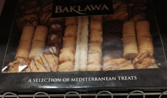 1Kg boxes Dina Baklawa / Baklava £7.99 at Home Bargains New Brighton