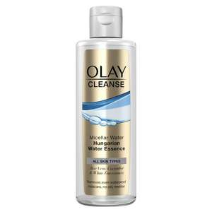 Olay Cleanse Micellar Water with Hungarian Water Essence 237ml - £2.10 instore @ Tesco, Broughton