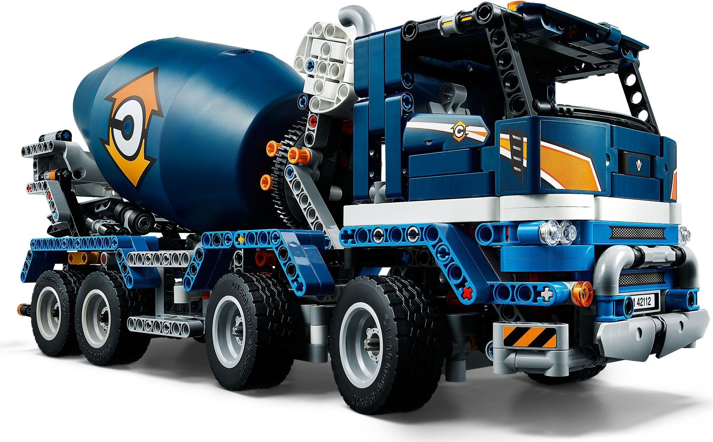LEGO Technic 42112 Concrete Mixer Truck £57.60 + £2.99 delivery @ Hamleys eBay