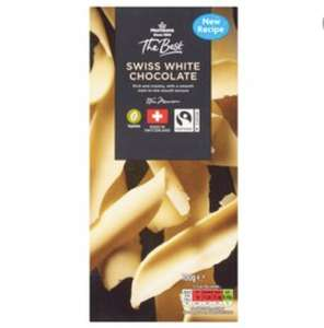 The Best 150g Chocolate Bar (Any flavour) - free for Teacher's Club members @ Morrisons with voucher