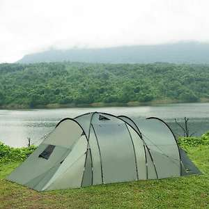 Outsunny 5 Man Camping Tent Family Friends Outdoor Shelter - 3 rooms £95.99 with code @ Outsunny / eBay