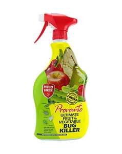 Provanto 86600246 Ultimate Fruit and Vegetable Bug Killer, Insecticide Protects For up to Two Weeks, 1L £3.99 Prime / Free C&C @ Amazon