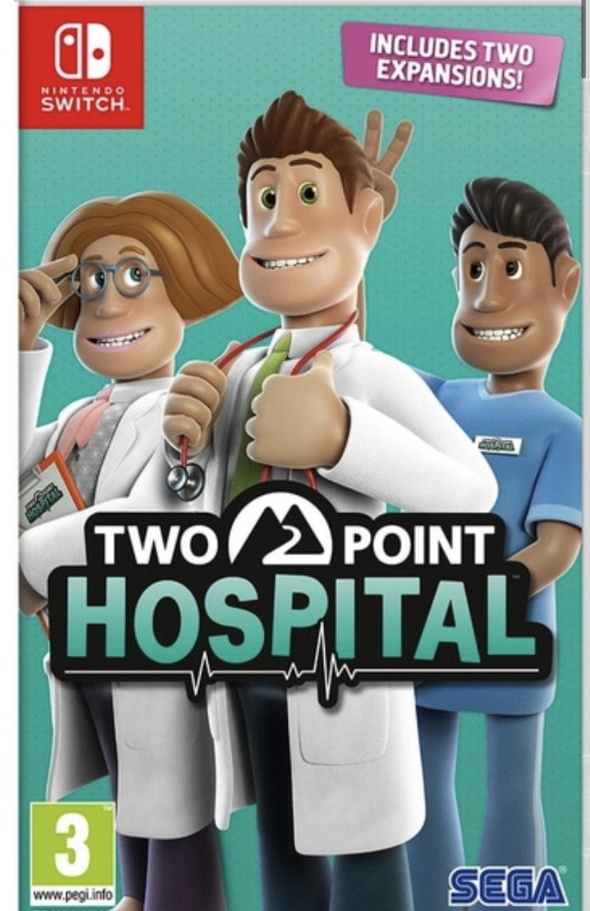Two Point Hospital Nintendo Switch - Smyths Toys Instore - Carlisle £10