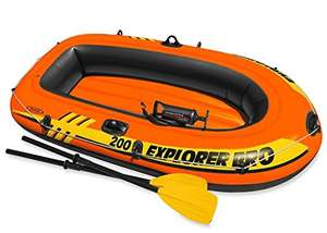 Intex Explorer Pro Inflatable Boat, Boat + Paddles + Pump, Two Person (196 x 102 x 33 cm) £27.16 delivered @ Amazon