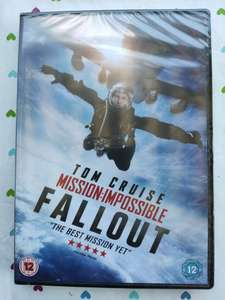 Mission Impossible : Fallout DVD £2 instore @ Sainsbury's, Kings Lynn, Norfolk