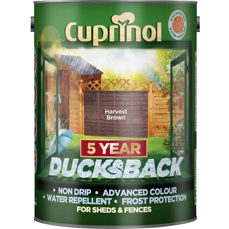 Cuprinol Ducksback 5L all colours £10 in store @ Wilko Salford
