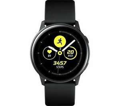 SAMSUNG Galaxy Watch Active - Black - DAMAGED BOX - £74.82 @ currys_clearance / ebay