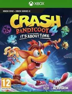 Crash Bandicoot 4: It's About Time (Xbox One) used - £19.39 with code @ musicmagpie / ebay