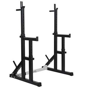 Gym Squat rack heavy duty adjustable - £109.99 (+£9.99 Delivery) - Sold and Shipped by Mk-Trading @ Amazon