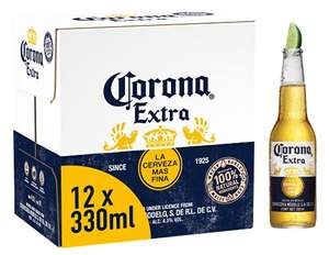 Corona Extra Mexican Lager Beer Bottle, 12 x 330ml (Usually Known As Corona Extra Premium Beer) - £9 (+£4.49 Non-Prime) @ Amazon