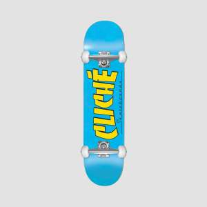 """Cliche Banco FP Pre-built Complete Skateboard 7.5"""" + Sushi Axle Nut & Washer Kit - £53.99 Delivered Using Code (UK Mainland) @ Rollersnakes"""