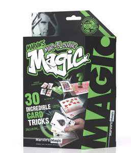 Marvin's Magic Mind-Blowing Magic Cards - £1.50 (Free Click+Collect) @ Argos
