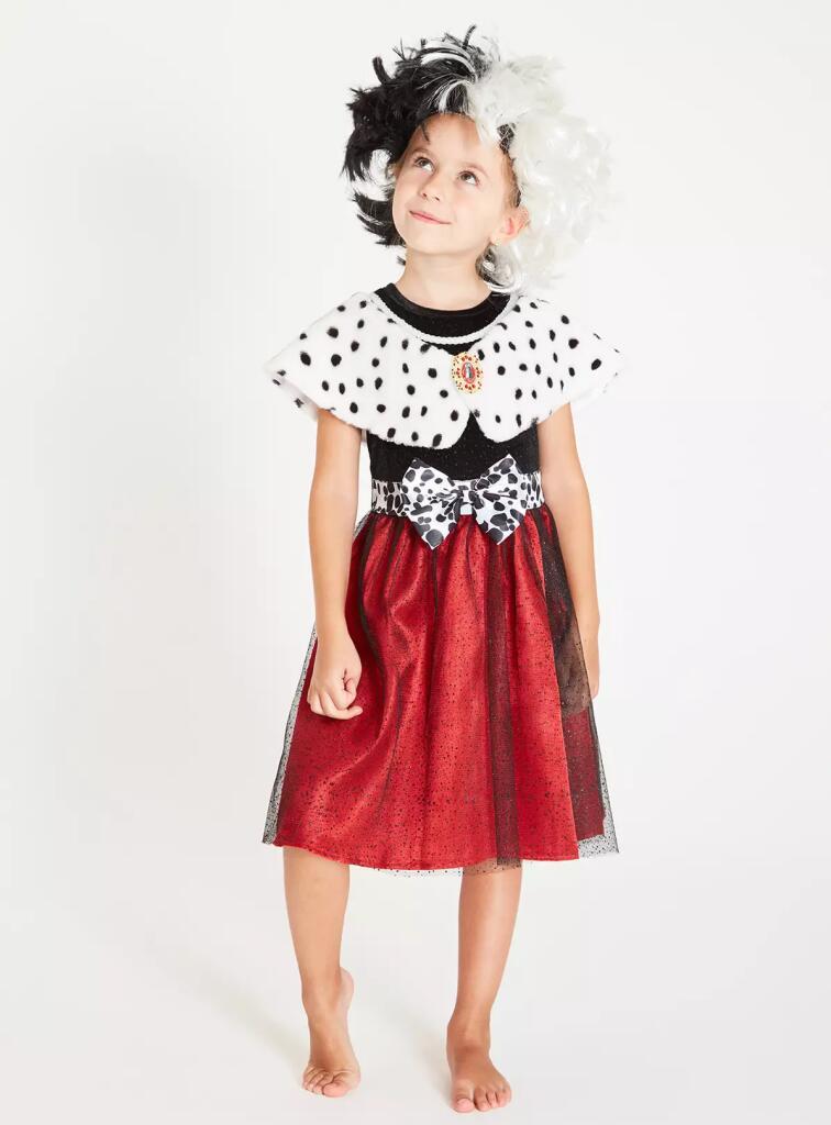 Disney 101 Dalmations Cruella fancy dress now £7.50 + free click & collect at Argos