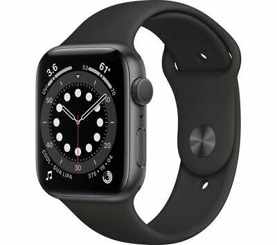 Apple Watch series 6 space gray aluminium case & black sport band 40mm brand new £299.99 from modaphones ebay store