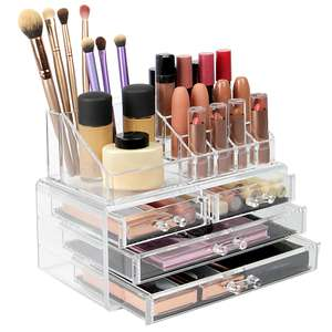 Cosmetic Makeup & Jewelry Organiser £9.94 delivered @ Roov