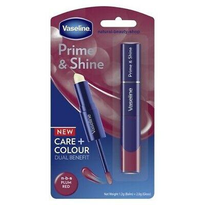 Vaseline prime & shine plum red lip gloss £1.65 instore at Tesco