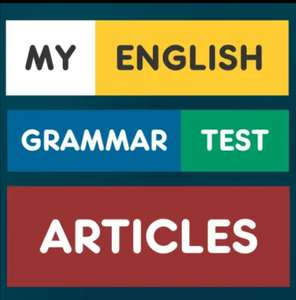 My English Grammar Test: Articles Pro temporarily free at Google Play Store