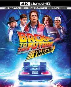 Back to the Future: The Ultimate Trilogy [Blu-ray] 4K Ultra HD + Blu-ray + Digital Amazon US for £31.94 (UK Mainland)