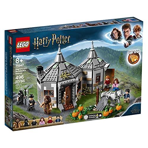 LEGO 75947 Harry Potter Hagrid's Hut: Buckbeak's Rescue Playset with Hippogriff Figure £37 at Amazon