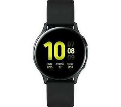 Damaged Samsung Galaxy Watch Active2 - Black Aluminium 40 mm £115.42 (use code) at Currys Clearance/Ebay