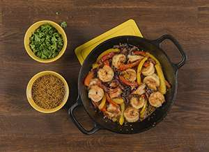 LODGE 20cm / 8inch Round, Double Handle Cast Iron Pan/Skillet, Black, £18.03 Delivered Amazon by Amazon US (UK Mainland Only)