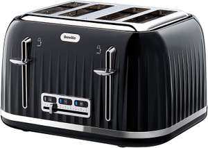 Breville VTT476 Impressions Collection 4 Slice Toaster with High-Lift and Wide Slots Black - £19.20 delivered w/code (UK mainland) @ AO eBay