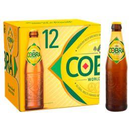 Cobra Premium Beer 12 X 330ml £9 at Asda