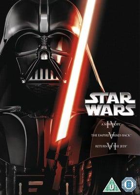 Star Wars Trilogy: Episodes IV, V and VI DVD (used) £2.49 delivered @ Music Magpie