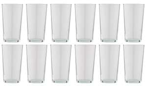 Argos Home Set of 12 Basic Beer Glasses £6 (free click & collect) @ Argos