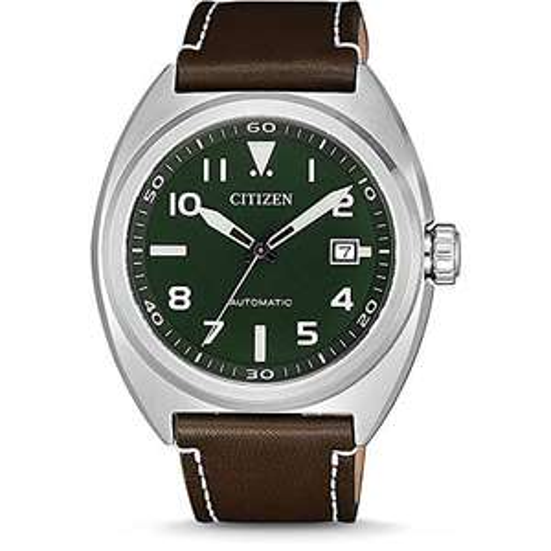 Citizen NJ0100-38X 45mm Mens Automatic Watch Miyota 8210 100M WR Leather Strap £111.30 @ Amazon